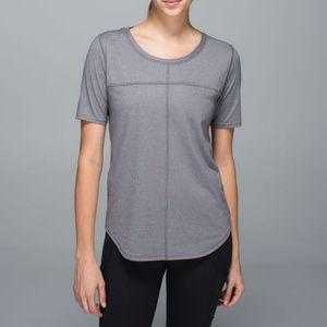 Lululemon Sz14 Run Away Tee Short Sleeve Yoga Top